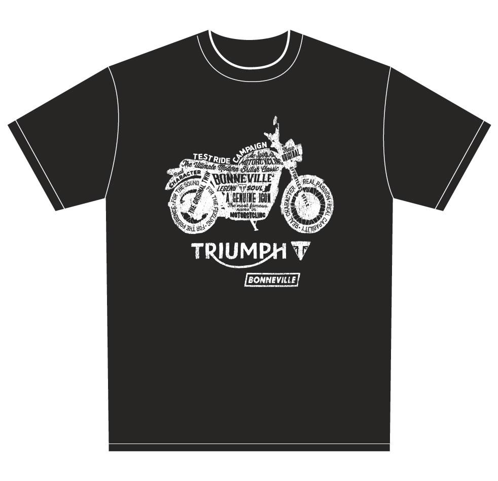 トライアンフ特製Tシャツ