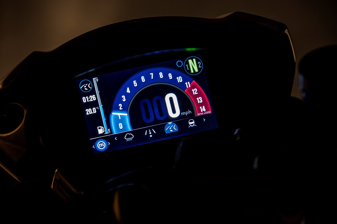 NEW Speed Triple RS誕生! パフォーマンスの進化が頂点へ!!